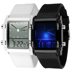 dial, menwristwatch, led, colorfulledwatch