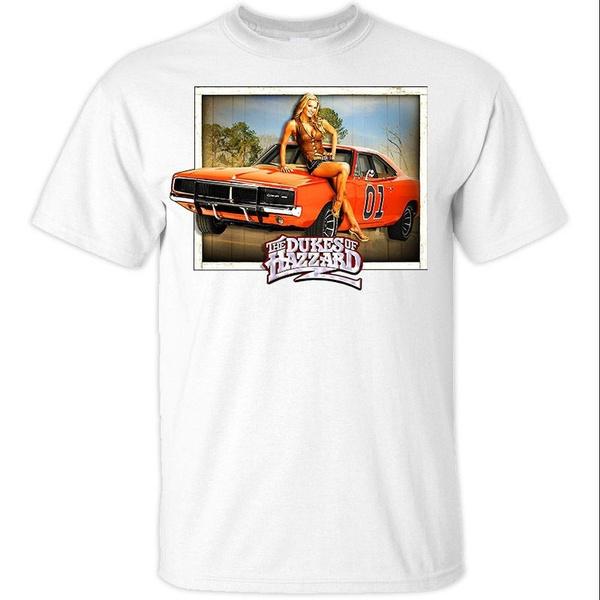 Hot Sell the Dukes of Hazzard T Shirt Khaki Size S-3xl Daisy Duke V5 Casual  Tops Men O Neck T Shirt Adult Tee Shirt