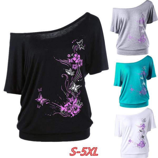 butterfly, Summer, Plus Size, butterflyprinttee