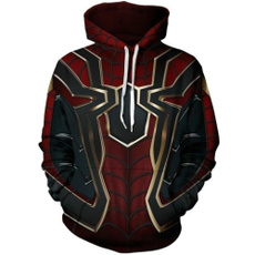 Iron, 3D hoodies, Fashion, Cosplay