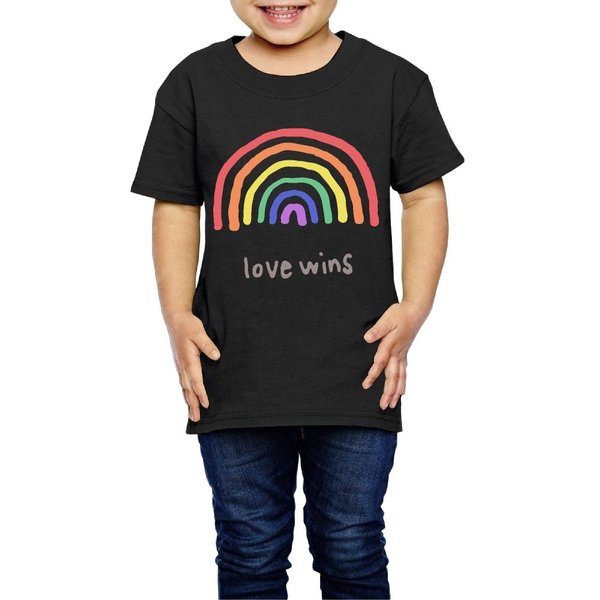 Love is Love Summer Basic Little Boys Short Sleeve Tee Short T Shirts