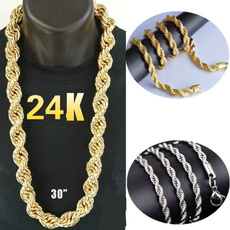 24kgold, Goth, Jewelry, gold