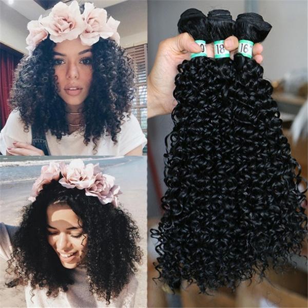 8 10 12 14 16 20 22 Inch 1 Bundle Brazilian Afro Kinky Curly Weave Synthetic Hair Brazilian Kinky Curly Hair Brazilian Hair Weave Hair Extensions Synthetic Wigs Mama