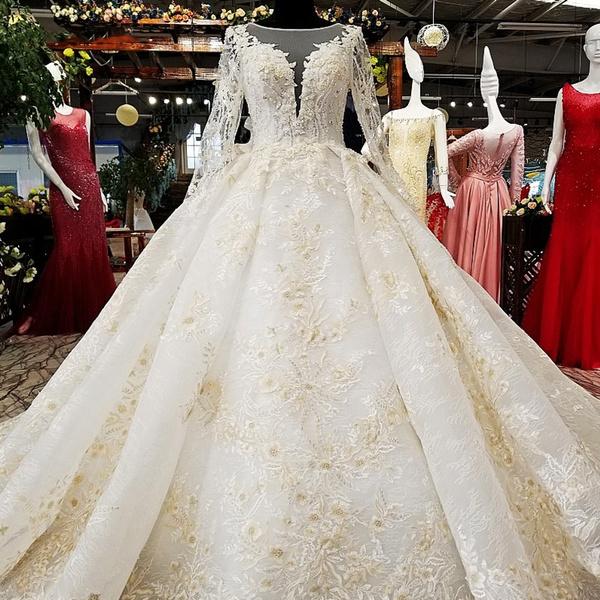 Big Puffy Wedding Dress 56 Off Plykart Com