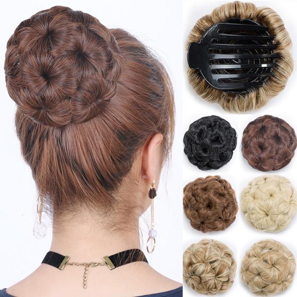 hairstyle, scrunchie, hairbun, human hair