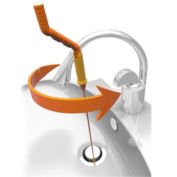 Hair Anti-clog Tool Starter Kit Flexible Drain Snake Clog Wand