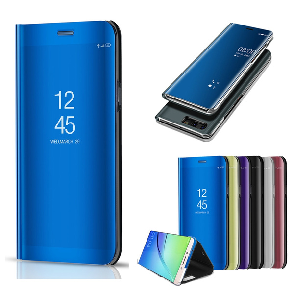 Huawei P20 Pro Flip Cover Kickstand Huawei P20 Lite Case Leather Slim Stand Protection Cover Flip Wallet Case for Huawei P20