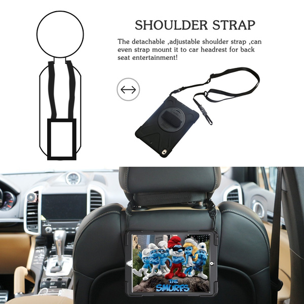 Cool Ipad Pro 10 5 Case Heavy Duty 3 In 1 Pc Silicone Shockproof Full Body Rugged Protective Case Built In Kickstand Hand Strap Shoulder Strap Tablet For Camellatalisay Diy Chair Ideas Camellatalisaycom