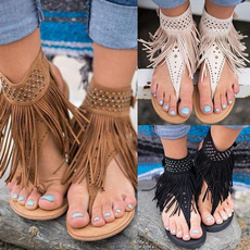 Summer, Tassels, Fashion, Women Sandals