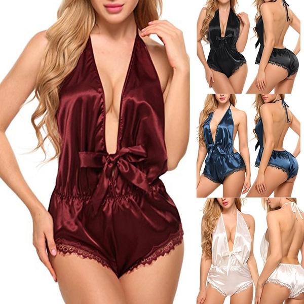 sexy underwear, nightwear, opencrotchlingeriesleepwear, Lace