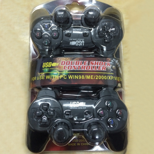 Double doubles vibration computer PC vibrate the live football boxing  notebook USB game handle