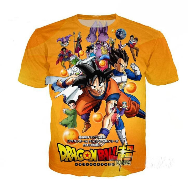 5619f8ce Hipster 3D t shirt Anime Dragon Ball Z T-shirts Funny Team Vegeta ...