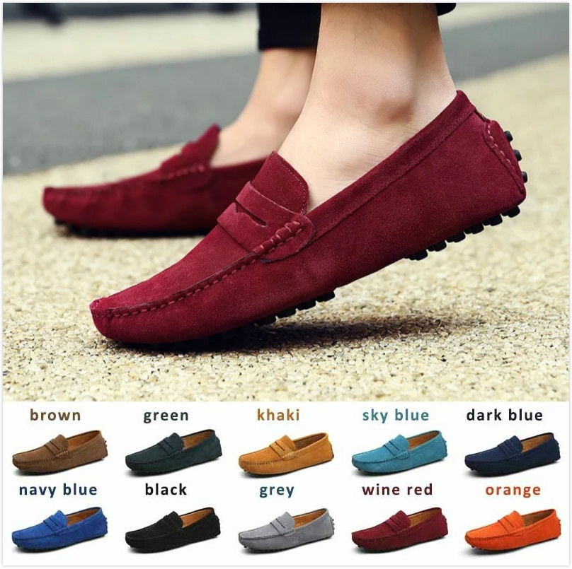 756d5a862674c Upper Material Full Grain Leather Decorations Plain Pattern Type Solid Leather  Style Nubuck Leather Gender Men Outsole Material Rubber Occasion Casual