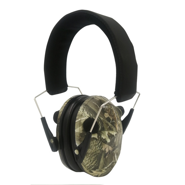 Safety Earmuff Electronic Headset Noise Reduction Ear Defenders For Shooting