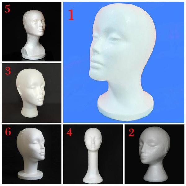 foamstyrofoam, wig, Head, Fashion