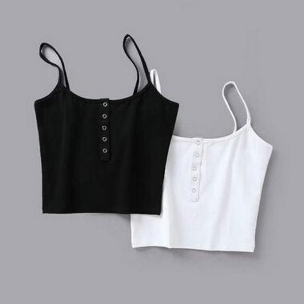 suspenders, Vest, Fashion, women crop top