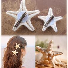 handmadehairpin, fashionhairpin, starfish, naturalhairpin