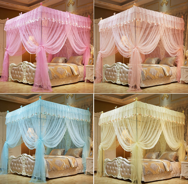 Princess Bedding Canopy Mosquito Netting Or Bed Frame Twin Twin XL King Size New
