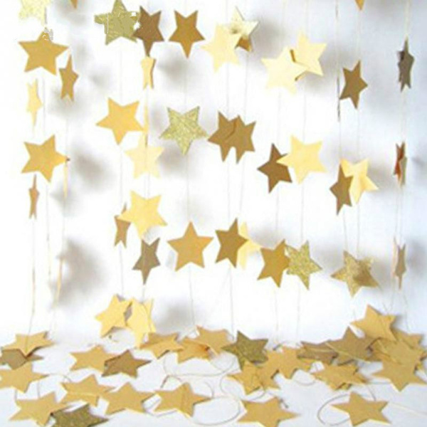 party, Decor, Star, Chain