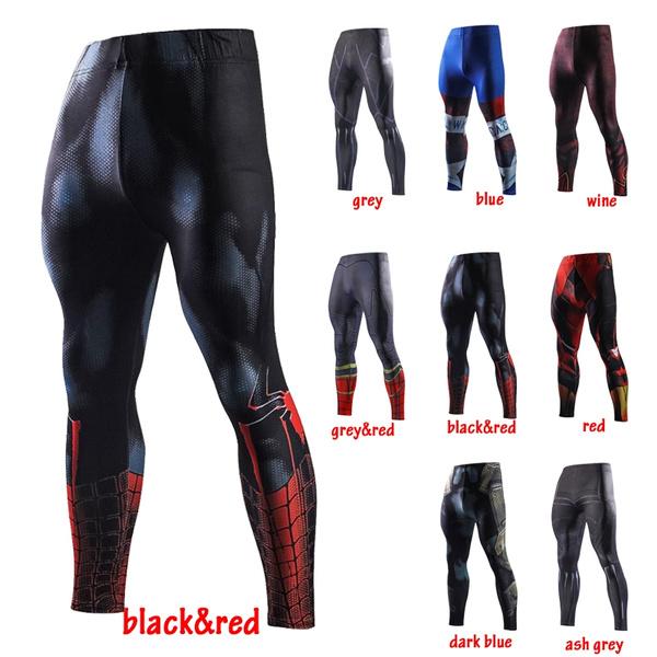 b1af8767350f3c Avengers 3 Infinity War Iron Spider-Man Pants Jogger Fitness ...