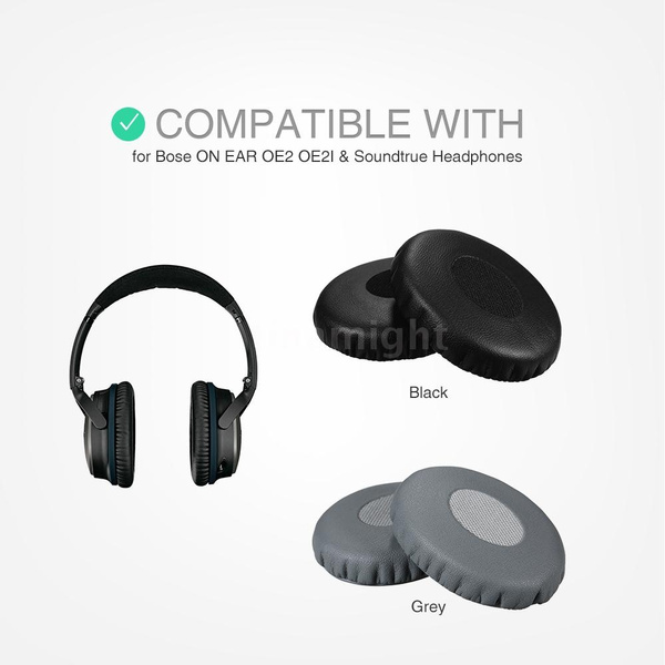 Replacement Memory Ear Pad Protein Leather Around Ear Cups Cushion Cover For Bose On Ear Oe2 Oe2i Soundtrue Headphones