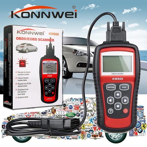 KW808 Car Diagnostic Tool Autel OBD Scan Tool OBD2 Scanner Code Reader  Scanner