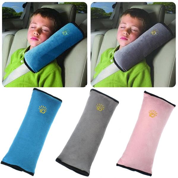 Kids Child Car Safety Strap Harness Pillow Shoulder Seat Belt Pad Cushion Pink