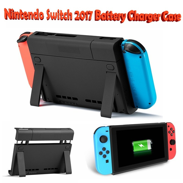 buy popular 43d6c 58dda Battery Charger Case Antank Portable Switch Backup Battery Pack 6500mAh  Extended Travel Power Bank for Nintendo Switch 2017