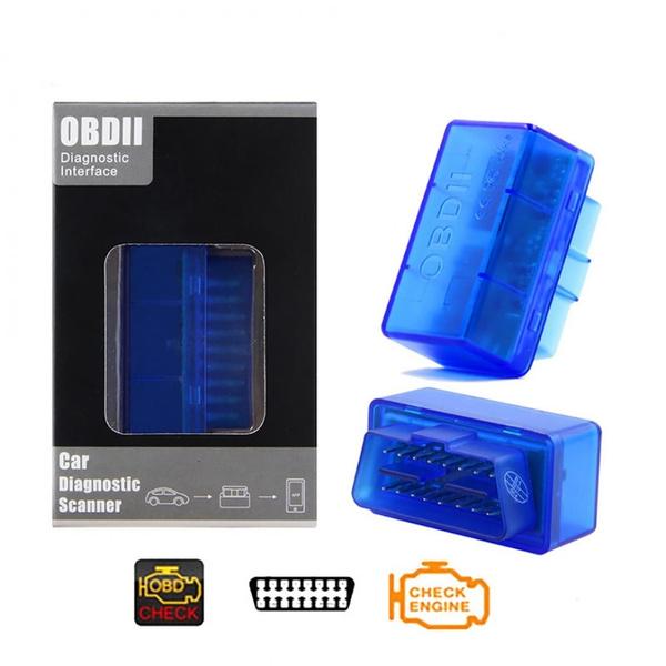 New Mini ELM327 V2.1 OBD2 Bluetooth Diagnostic Auto Car Scanner Interface Tool