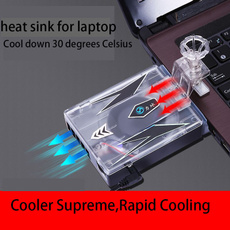 CPU Cooler Notebook Dissipate Heat Cold Wind Chiller Air Extracting Cooling Fan
