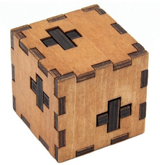 Box, Educational, Toy, Wooden