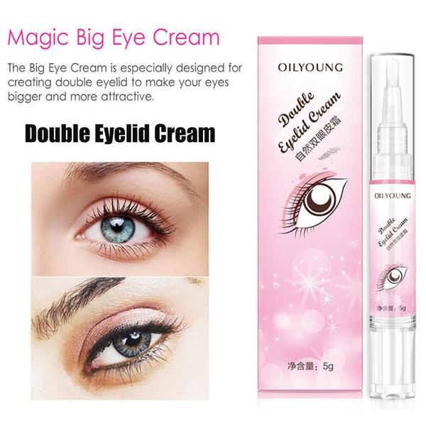 Double Eyelid Cream Invisible Eyelids Glue Long lasting Magical Eye Makeup  Tools