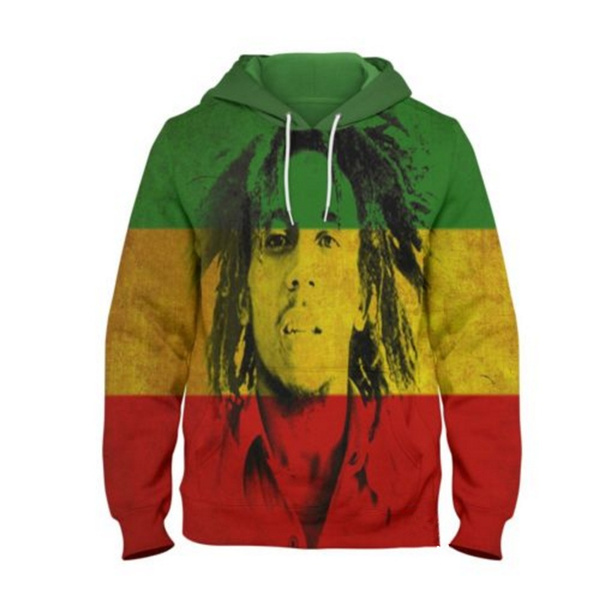 80196b288474b Bob Marley Face Rasta Reggae Pop Legend Singer 3d Hoodies 2018 New Design  Mens Hoodies And Sweatshirts Hip Hop Hoodies S-5XL M94