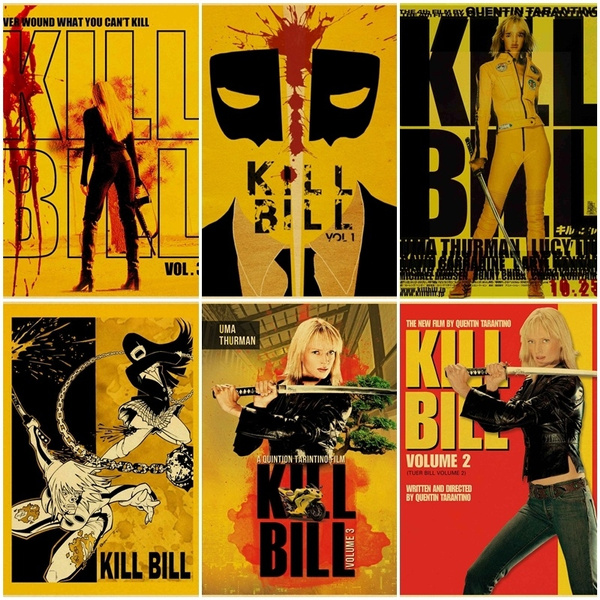 Kill Bill Di Quentin Tarantino Movie Poster Retro Poster Decorazione Della Casa
