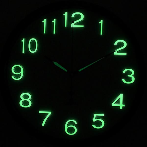 DIY Quartz Wall Clock  Mechanism digital glow in the dark safe material luminova