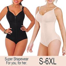 fajascolombiana, Plus Size, Zip, seamlessshapewear