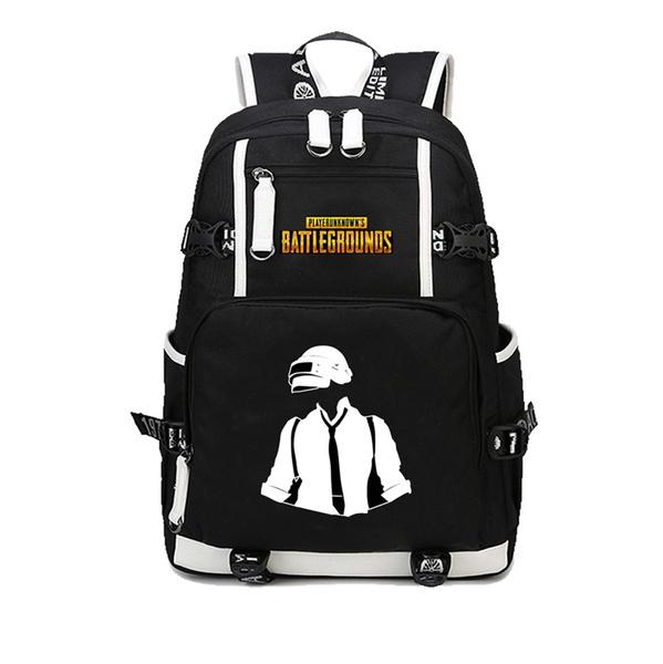 Game Player Unknowns Battlegrounds Backpacks School Bags Pubg Backpack For Boyfriend Game Fans Fashion Shoulder Bag Rucksack