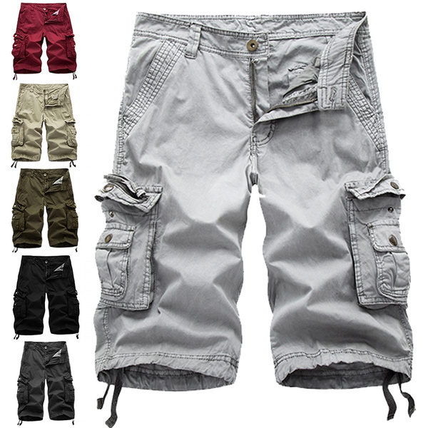 mens cargo shorts pants