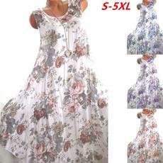 Summer, Fashion, Floral print, Ladies Fashion