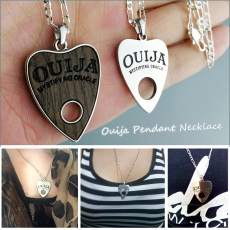 Steel, Heart, Jewelry, ouijanecklace