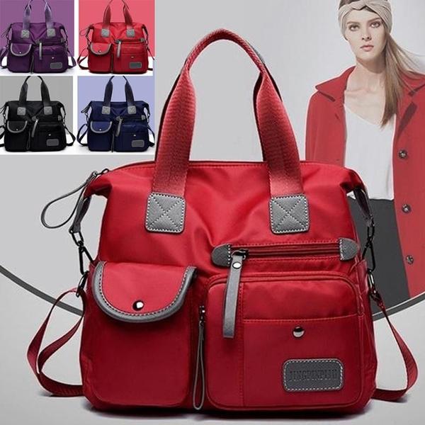 Women Handbag Messenger Bag Shoulder Bag Waterproof Tote Bag Ladies Purse