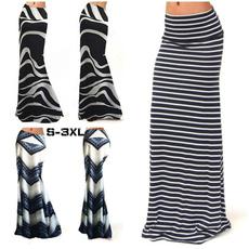 long skirt, Plus Size, Waist, autumnskirt