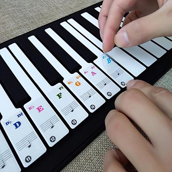 pianosticker, keyboardsticker, Keys, musictool