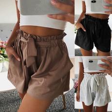 elastic waist, Lace, Elastic, pants