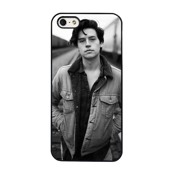 Hot Tv Show Archie Comics Riverdale Jughead Jones Cole Sprouse Hard Cell  Phone Case Cover for IPhone 4 4S 5 5C 5S 6 6S 6Plus 6SPlus 7 7Plus 8 8Plus  X