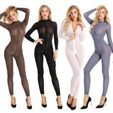 transparentbodysuit, Sleeve, sexybodysuit, Long Sleeve