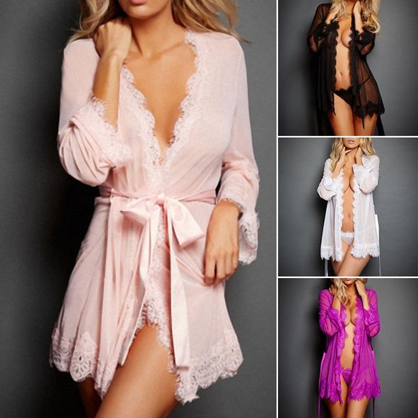nightwear, Dress, Lace Dress, Underwear