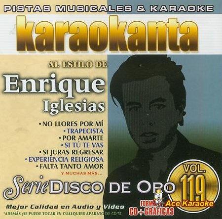 Karaokanta KAR- 1819 - Disco de Oro - No llores por mi - Spanish CDG