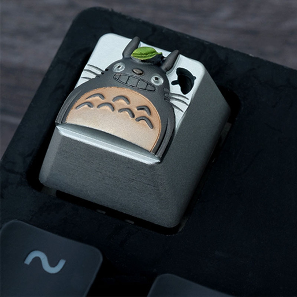 Totoro Aluminum Alloy Keycap for Mechanical Gaming Keyboard Backlit R4 ESC  Key cap