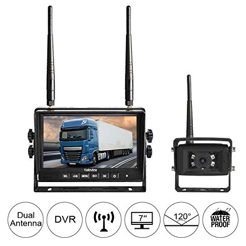 "Wireless Weatherproof Backup Camera /& 7/"" Monitor for Bus,Truck Trailer Van"